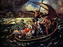 Christ and the StormGiorgio de Chirico, 1914